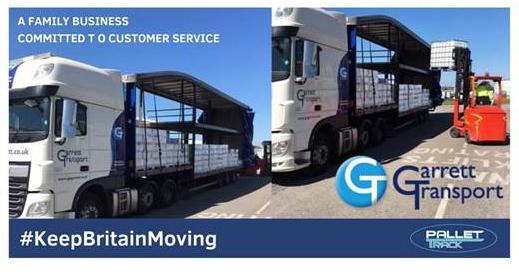 Garrett Transport Keep Britain Moving